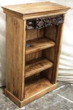 Bookshelf cabinet with Kerala carving