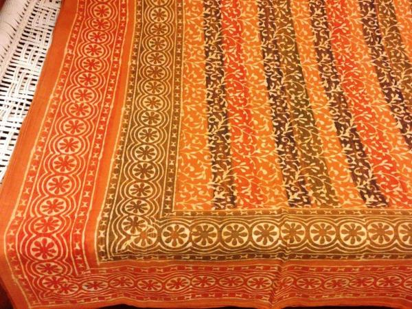 Cotton bedcover, India
