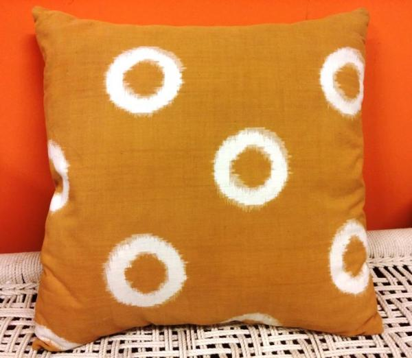 Ikat cushion cover 50cm