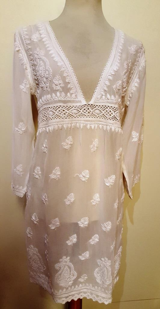 Georgette fabric embroidered blouse