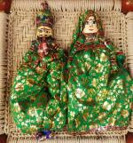 Puppets from Rajasthan, India