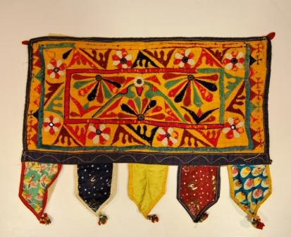 Olt toran with embroideries, India