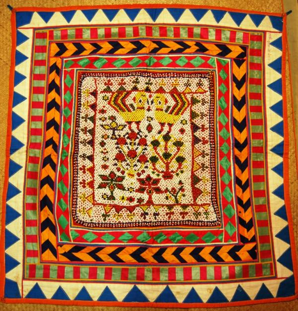 Kutch bead work chakla, India
