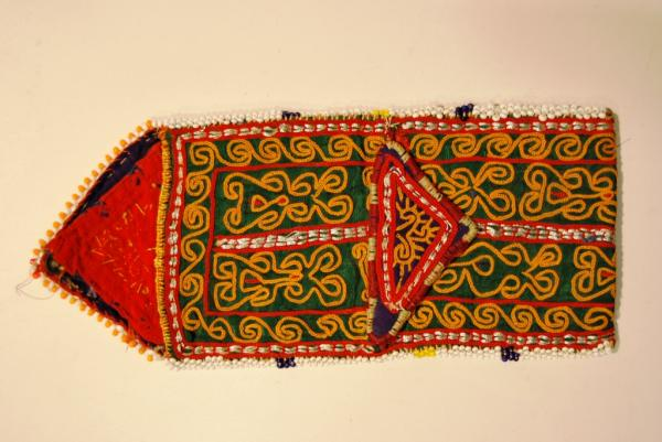 Old embroidered textile, India